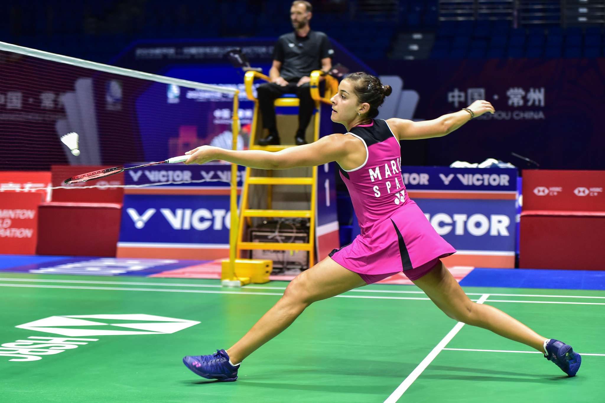 Olympic champion Marín through to semi-finals at BWF China Open