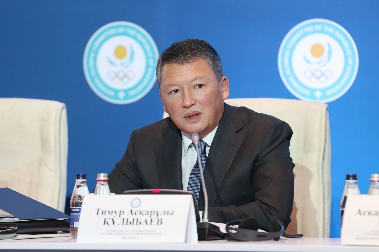 Kulibayev re-elected President of Kazakhstan NOC