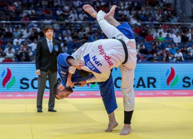 Yakub Shamilov won a closely-fought men's under-66kg final ©IJF