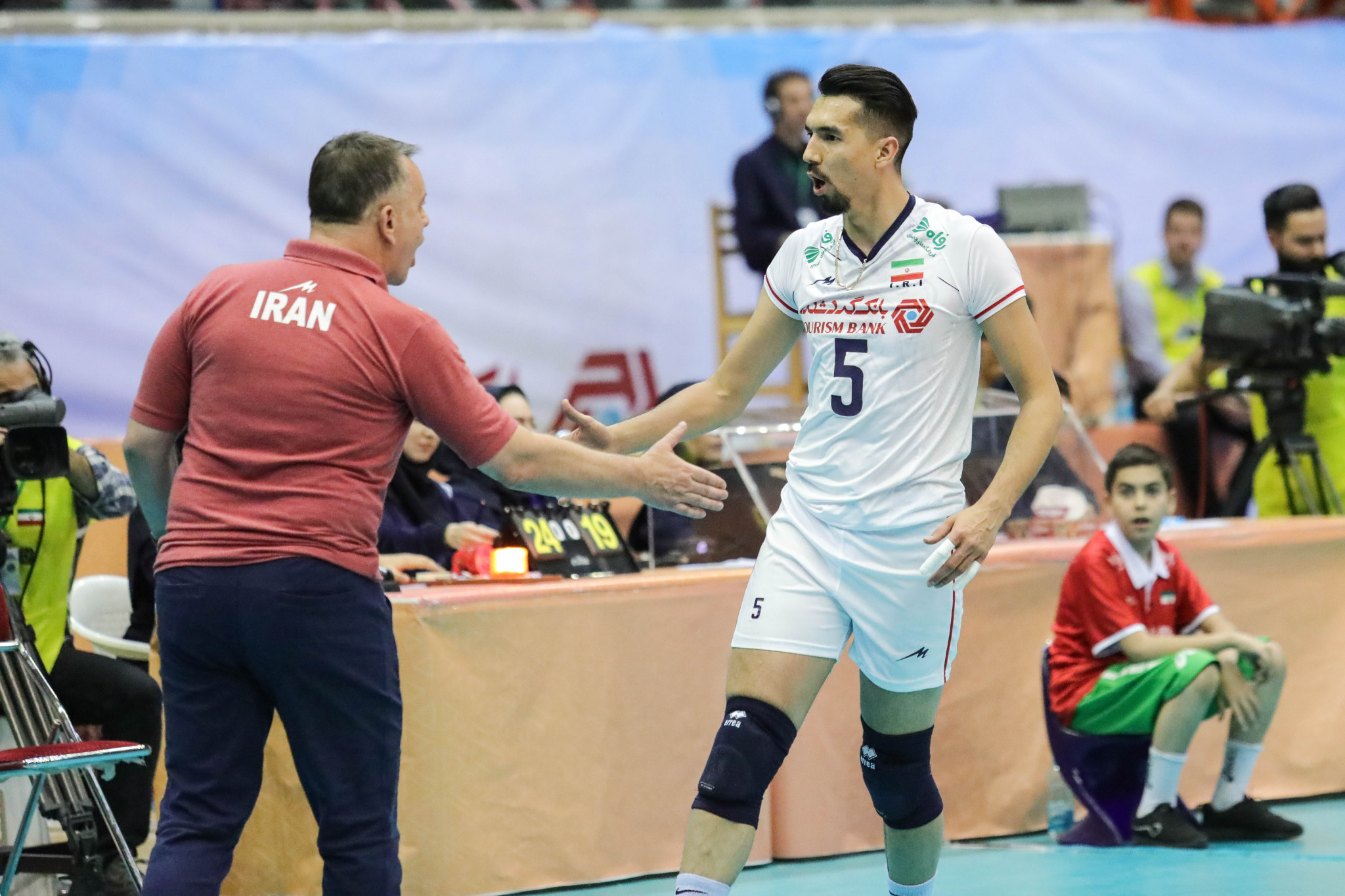 Hosts Iran and Australia make Asian Men's Volleyball Championship final