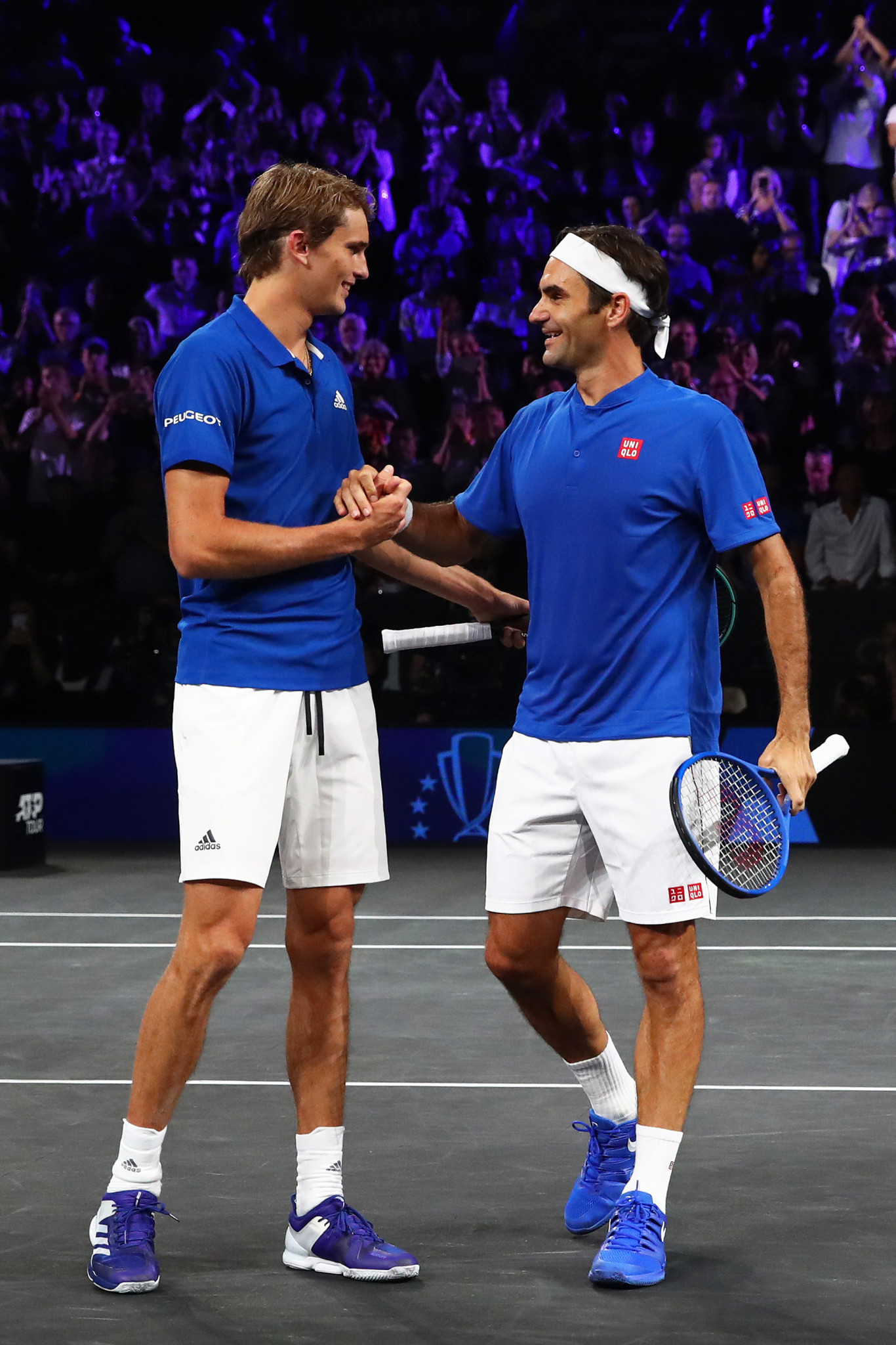 Federer and Zverev give Europe 3-1 lead over Team World at Laver Cup