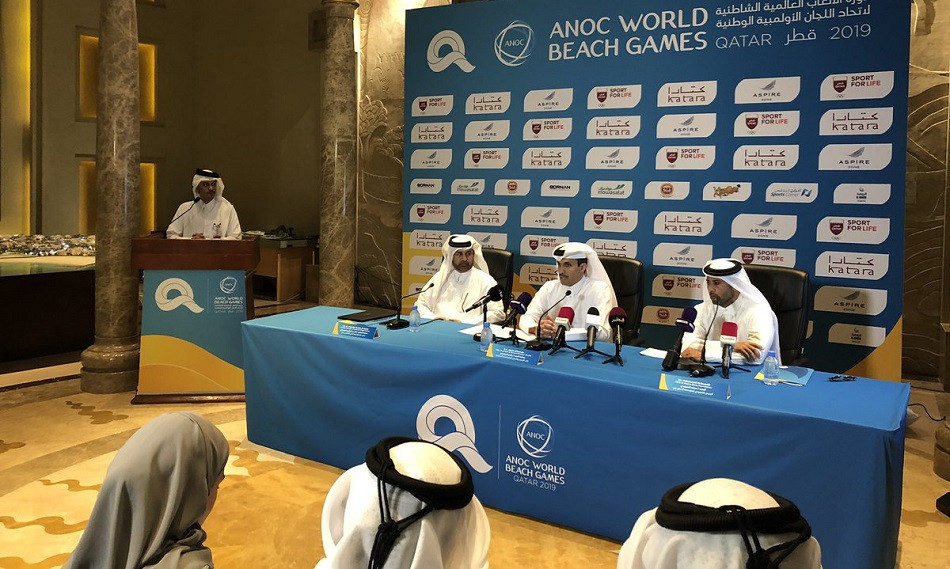 The Qatar Olympic Committee has been named the official partner of the World Beach Games ©QOC