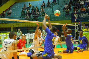 Rwanda qualified for the semi-finals ©Twitter