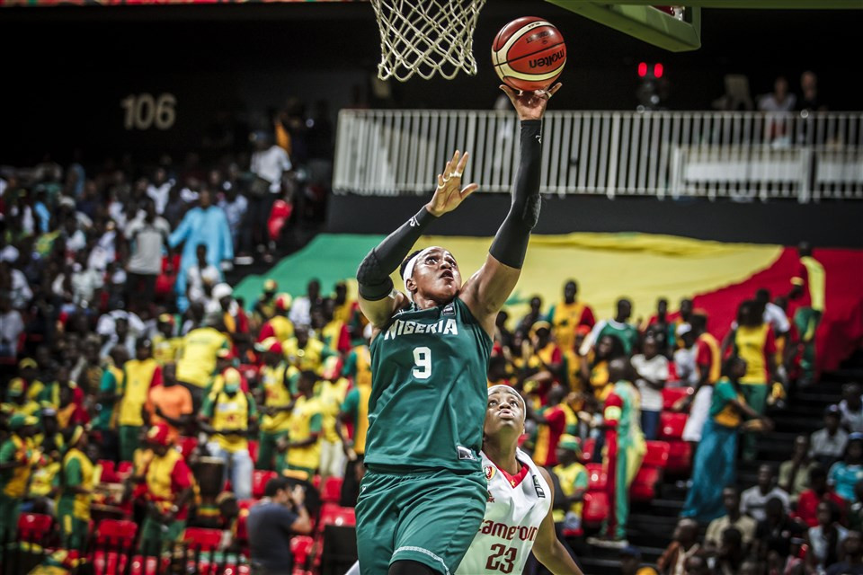 Aisha Balarabe, Nigeria's most famous female basketballer, wants to compete at the Olympic Games ©FIBA