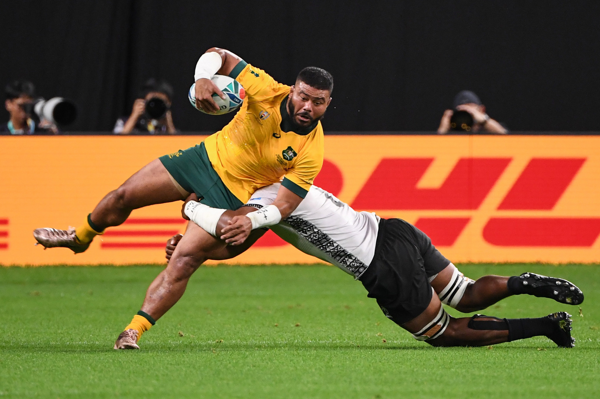 Fiji just couldn't hang on to Australia, despite leading for an hour ©Getty Images