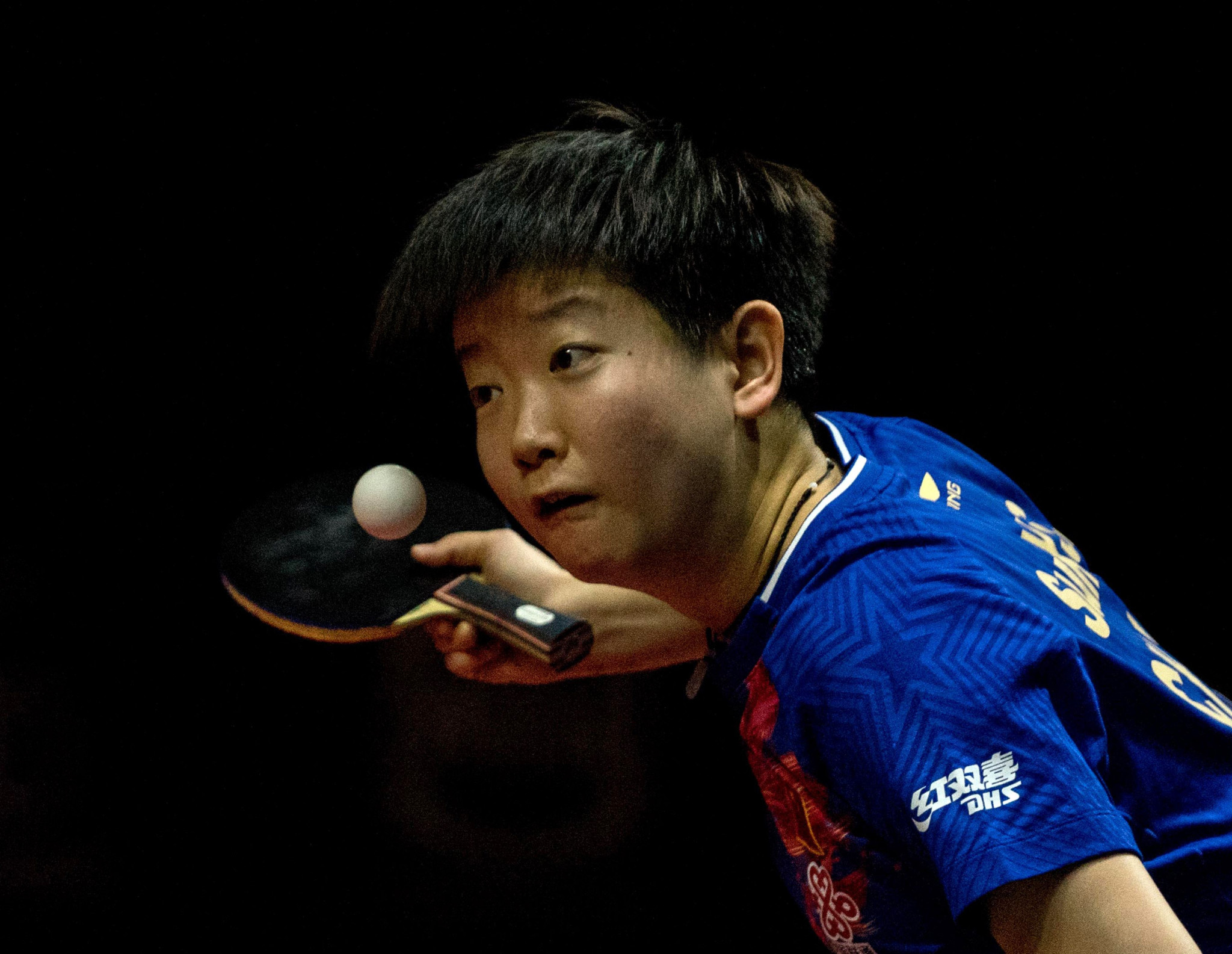 Sun Yingsha collects shock gold at Asian Table Tennis Championships