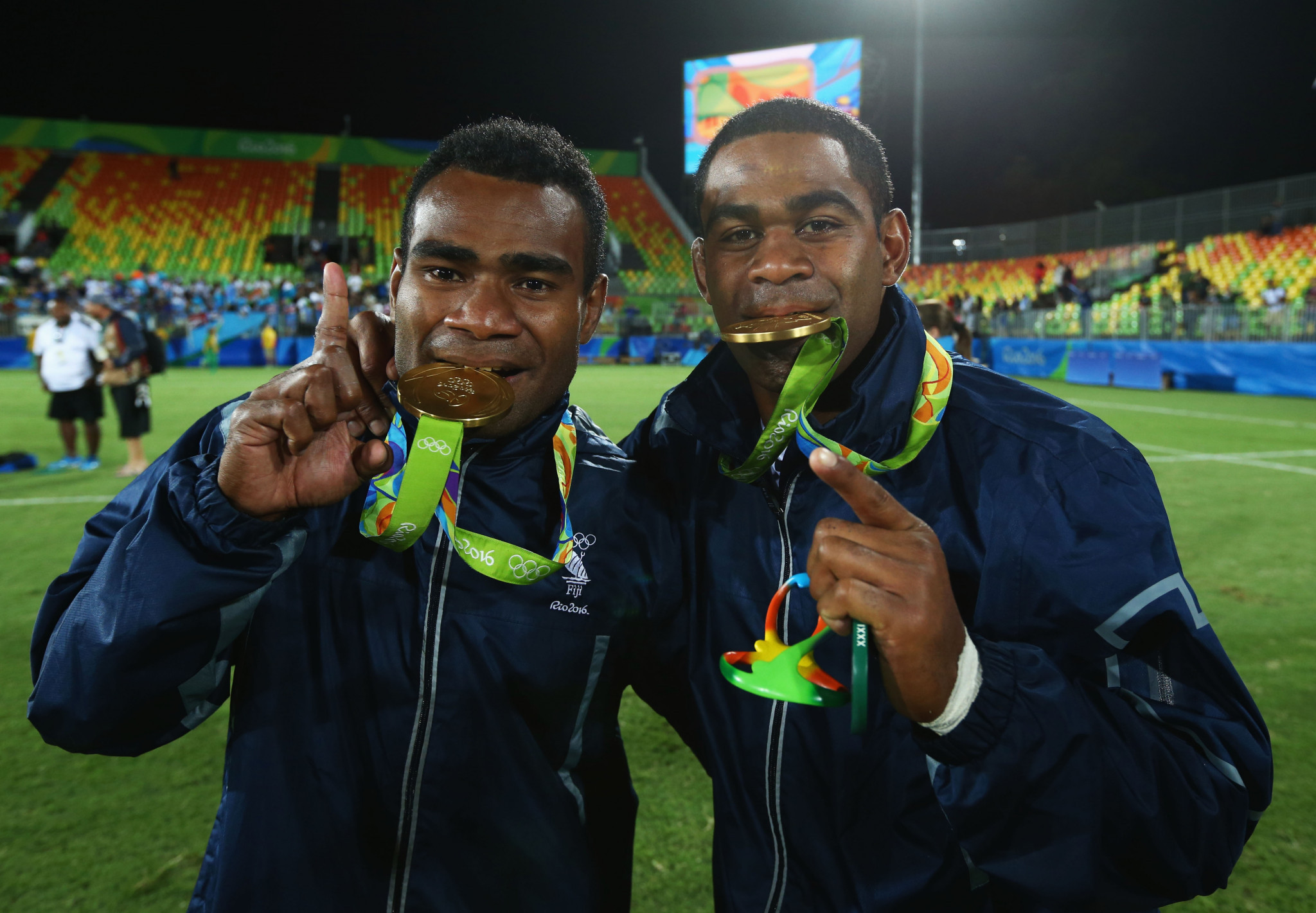 Fiji were the inaugural Olympic sevens champions at Rio 2016 ©Getty Images