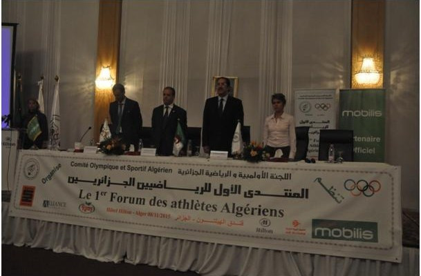 Inaugural Algerian National Olympic Committee Forum of Athletes held in Algiers