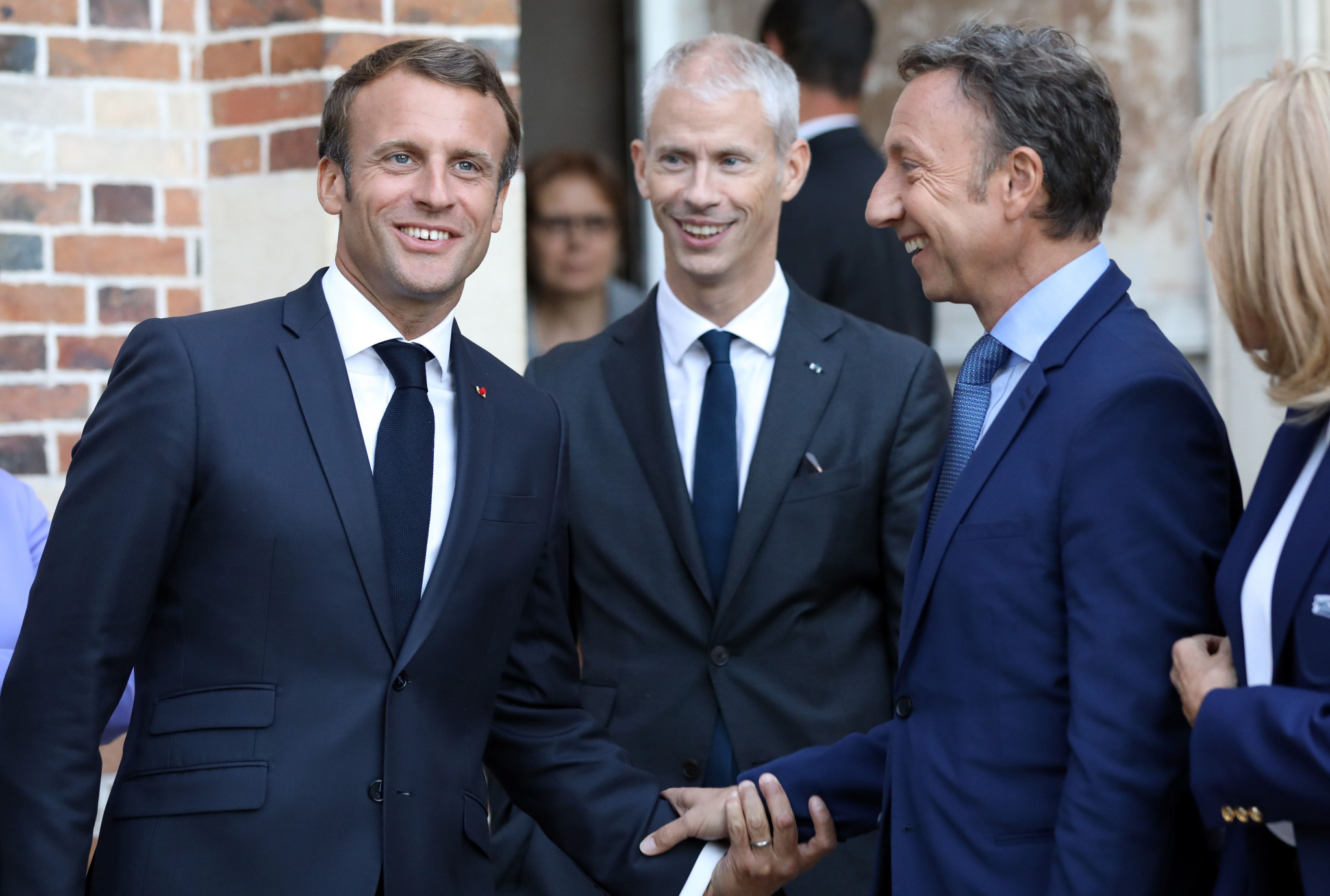 French President Emmanuel Macron has conferred his high patronage to the project ©Getty Images