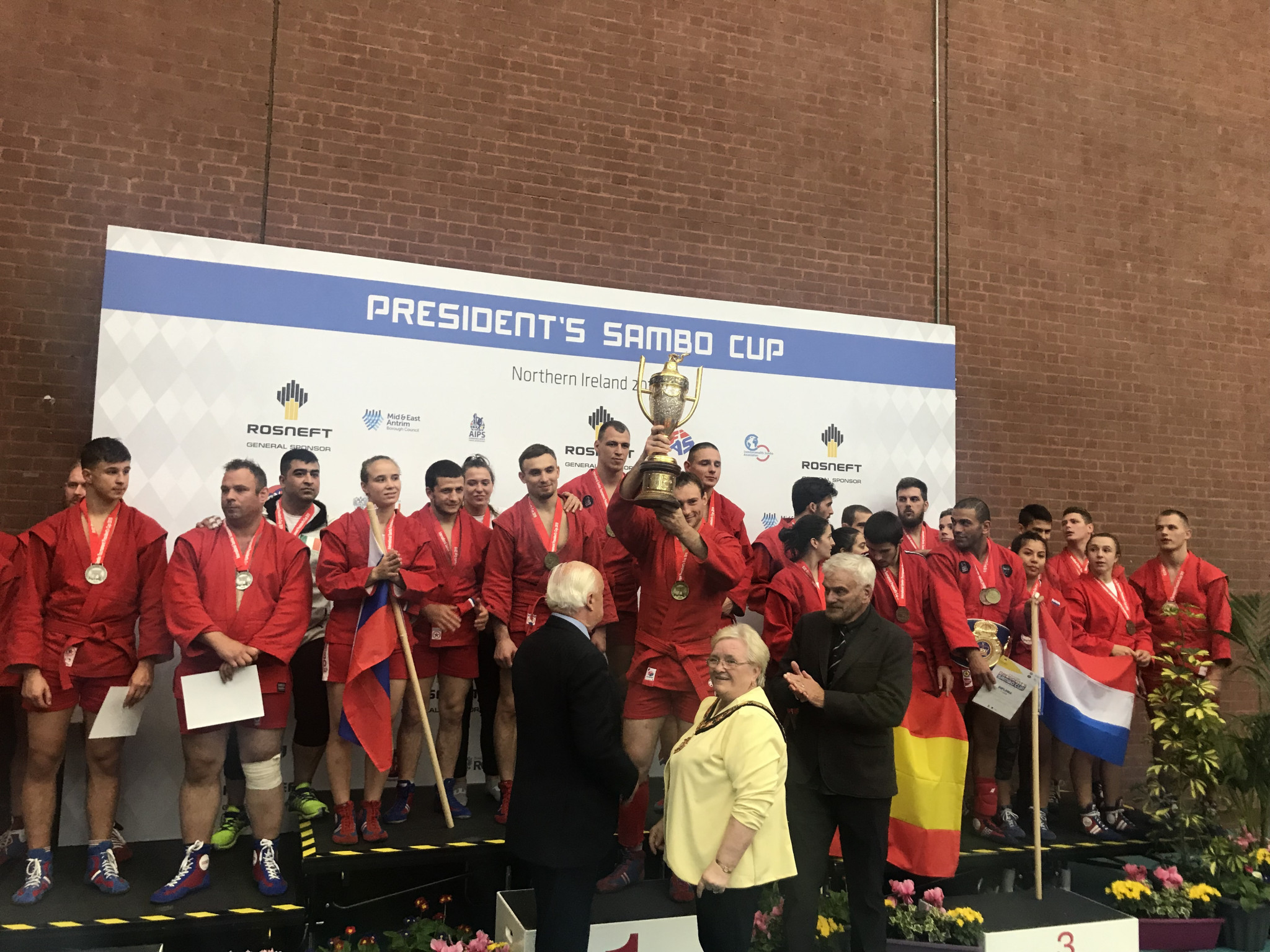 Russia defeat Republic of Ireland to win sixth President's Sambo Cup title