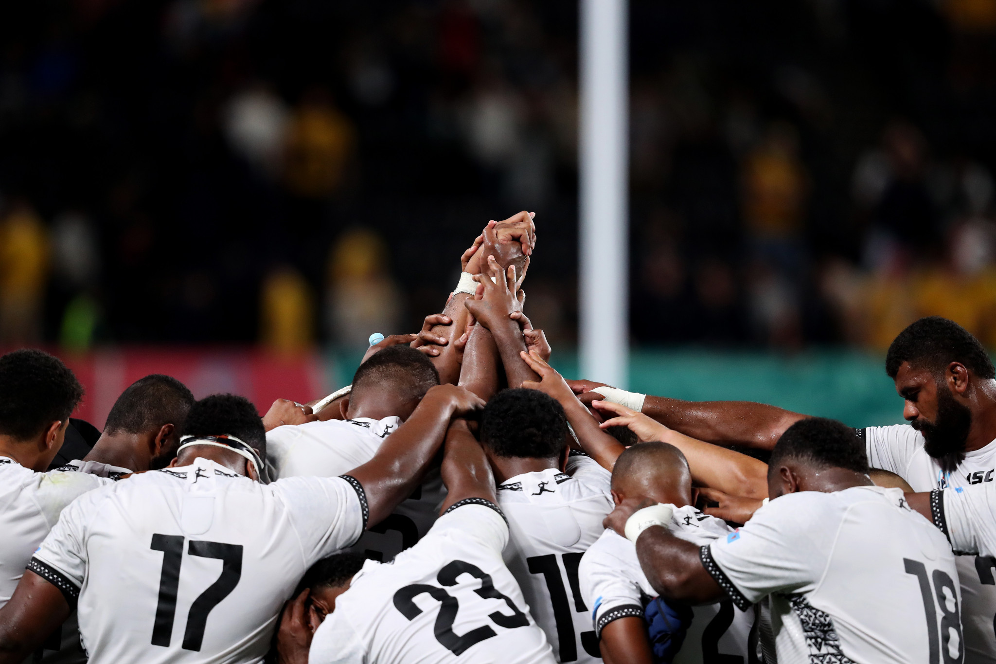 Fiji can still take a lot of heart from their 39-21 defeat ©Getty Images