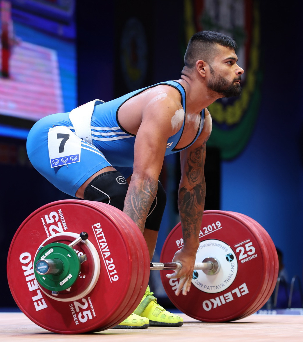 Bulgaria's Bozhidar Dimitrov Andreev rounded off the podium ©IWF