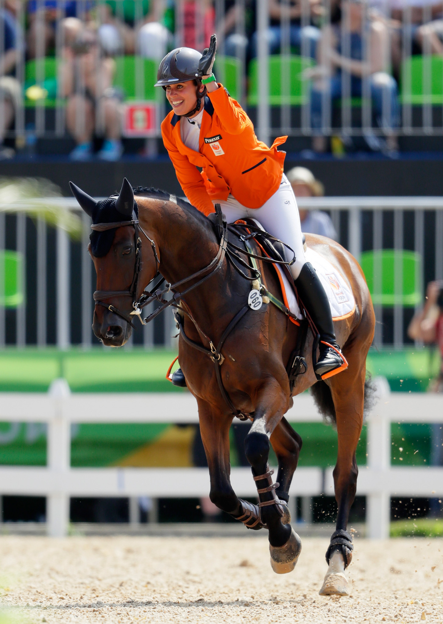 Blom retains lead at FEI Nations Cup Eventing in Waregem