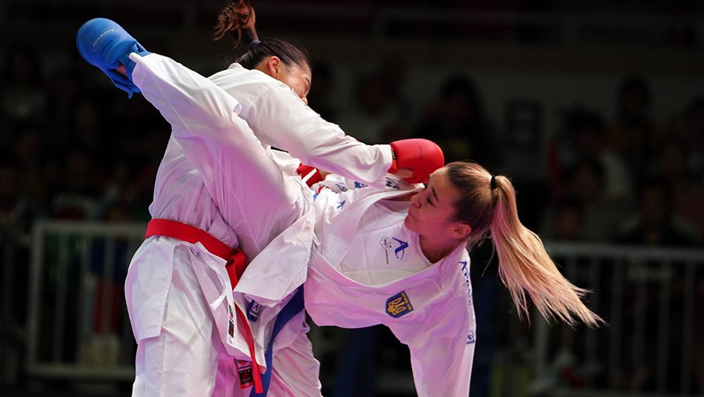 Qualification headlined the opening day of competition in Santiago ©WKF