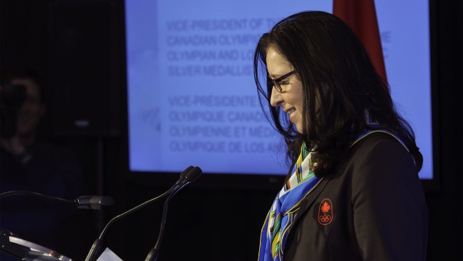 Tricia Smith elected Canadian Olympic Committee President