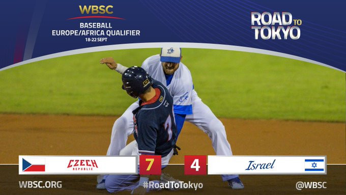 Czech Republic beat Israel to dent their qualification hopes ©WBSC
