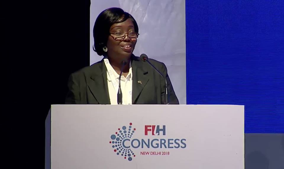 Ghana Hockey Association executive Elizabeth King has been appointed to the board of the GOC ©African Hockey Federation