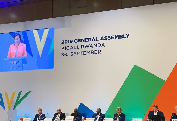 The Commonwealth gathered for the CGF General Assembly in Rwanda ©CGF/Twitter
