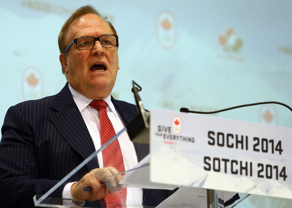 Marcel Aubut stood down from the ANOC Executive Council last year ©Getty Images