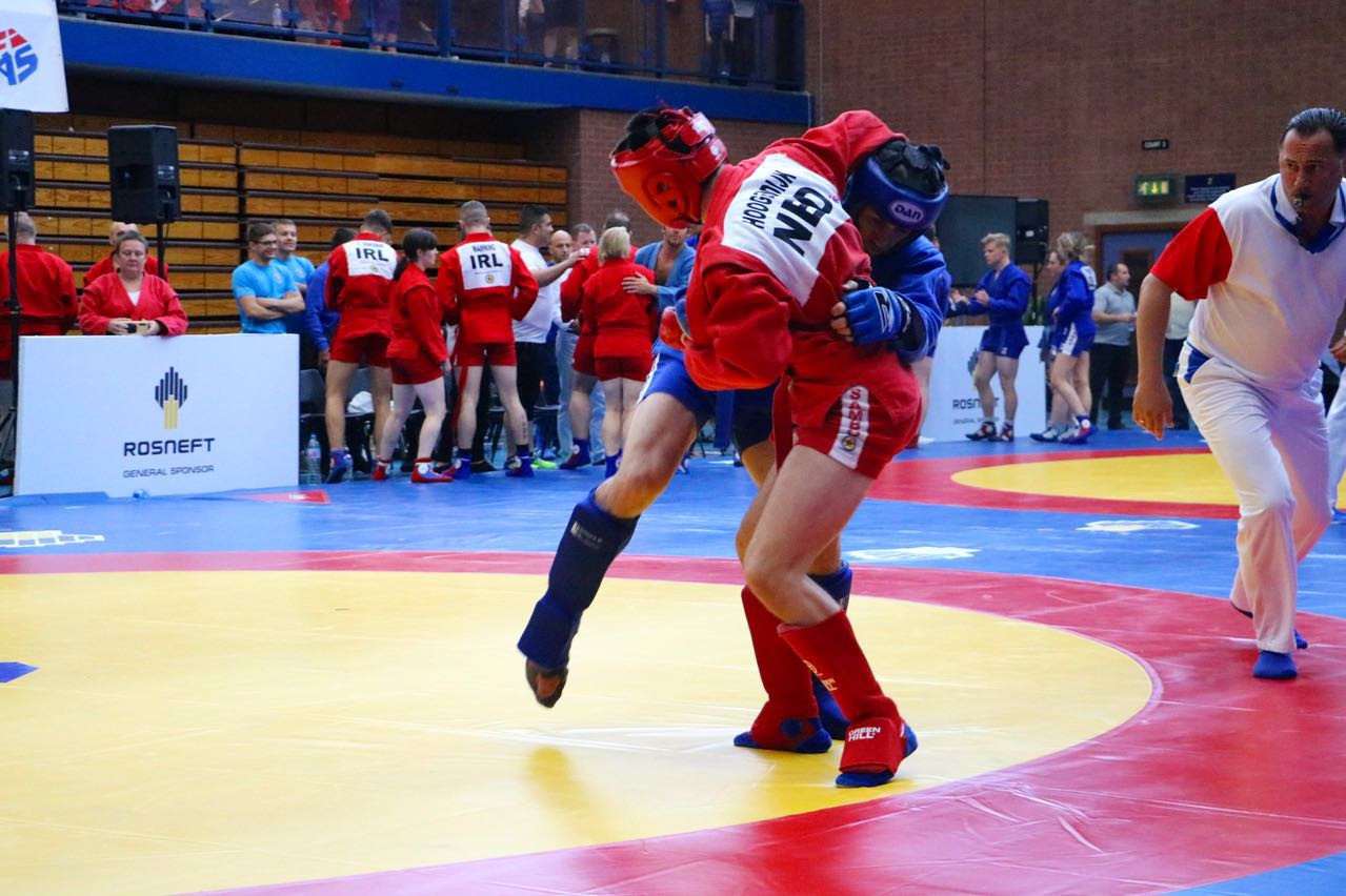 "Sambo on road to full Olympic recognition and ""will get there"", insists Scottish Federation President"