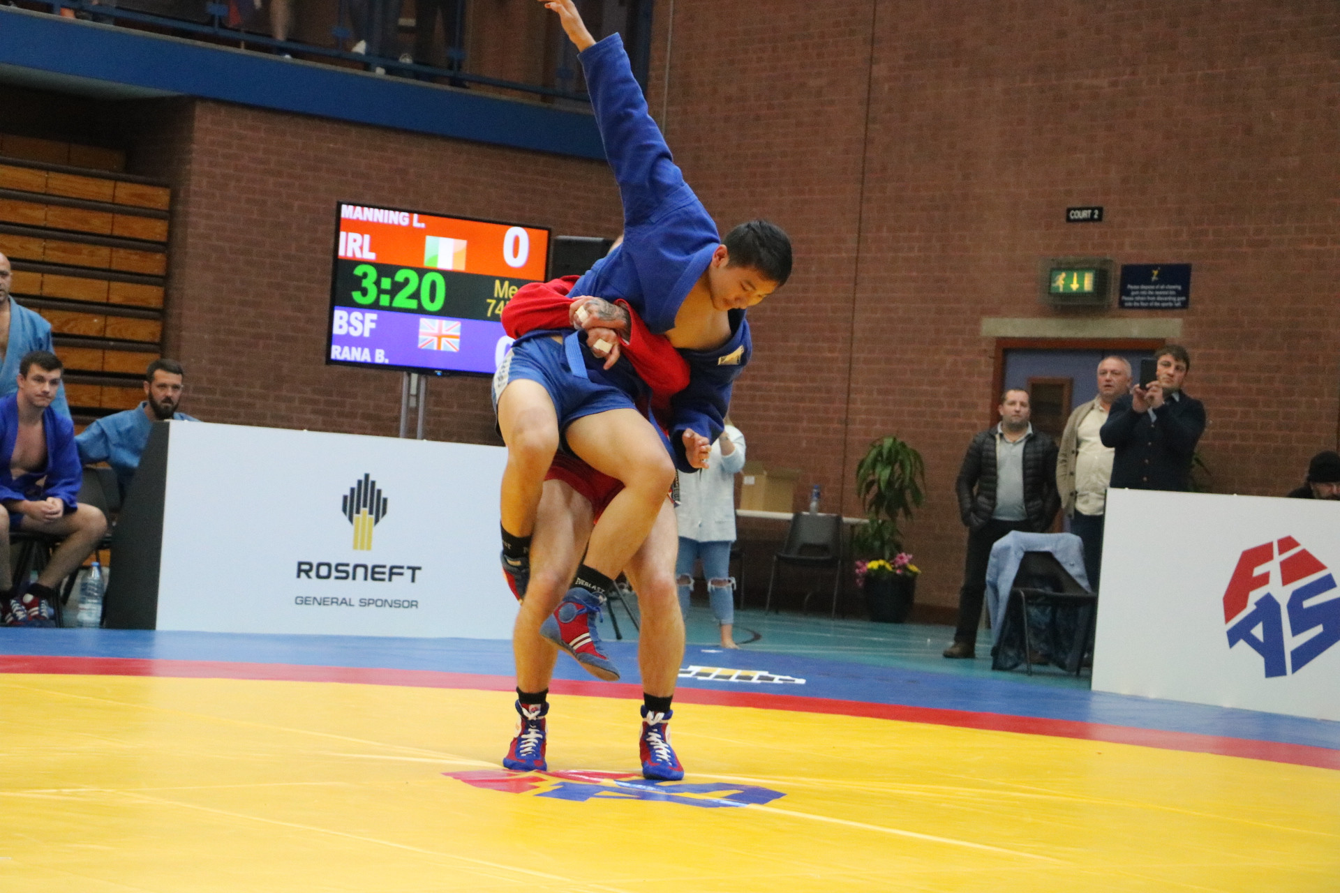 Russia beat Ireland 5-2 in the final in Ballymena on Sunday ©FIAS
