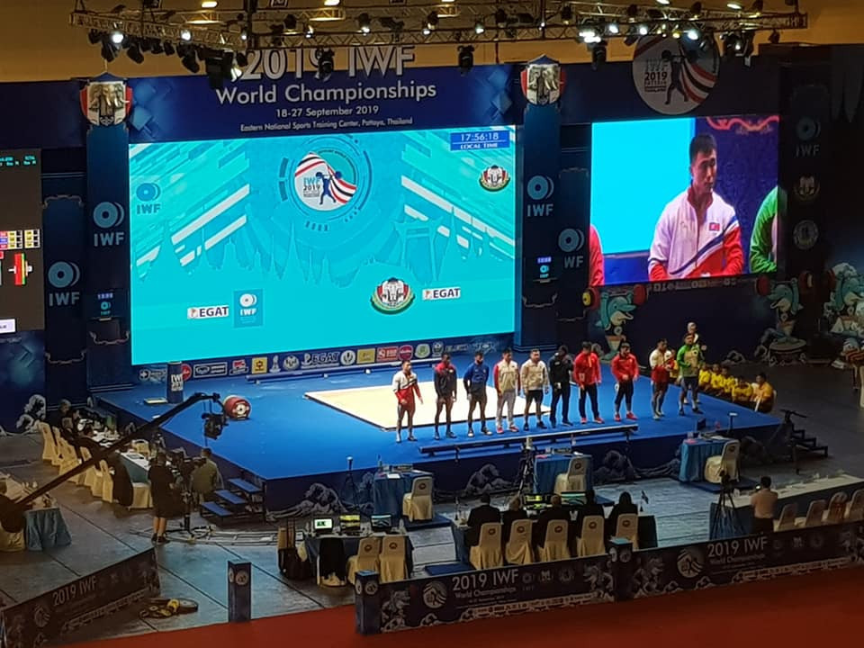 IWF World Championships: Day five of competition