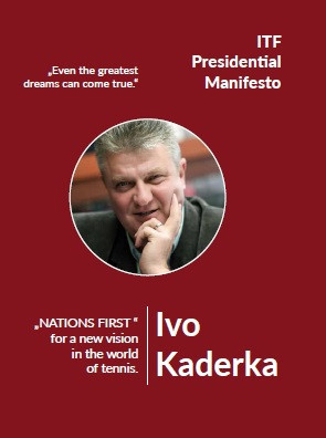 Kaderka targets improved relations with professional tours if elected ITF President