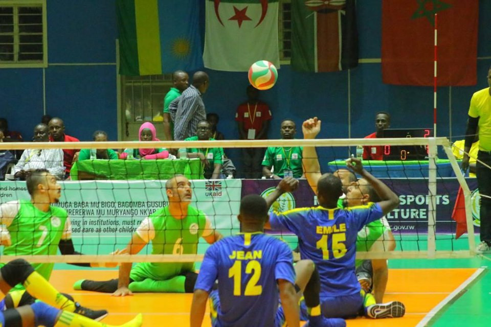 Rwanda and Egypt to contest final at Men's ParaVolley Africa Sitting Volleyball Championships