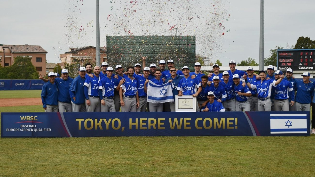 Israel to make Olympic baseball debut after qualifying for Tokyo 2020