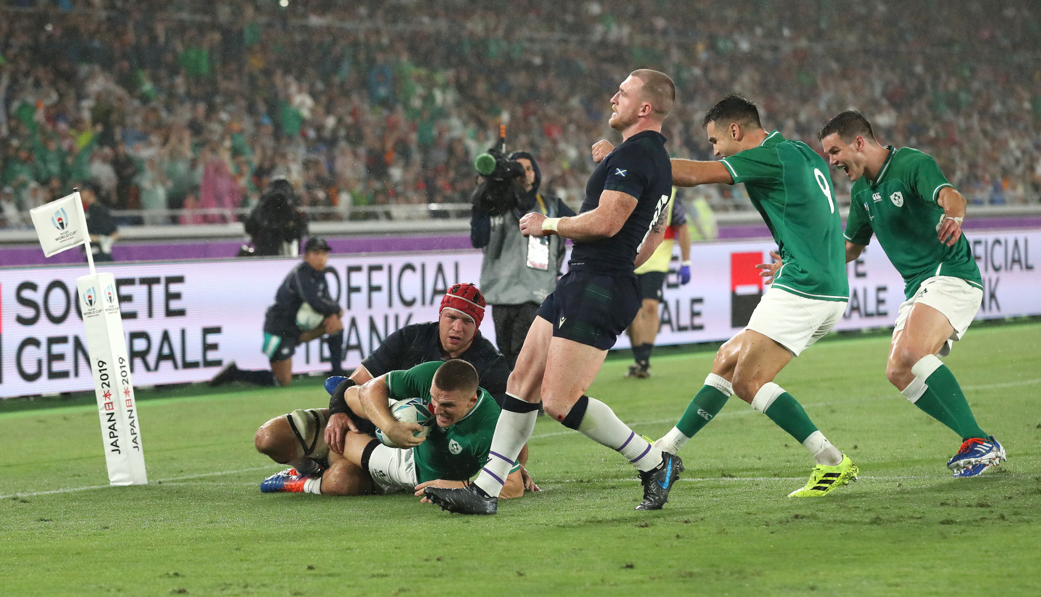 Ireland sweep Scotland aside in crunch Rugby World Cup encounter