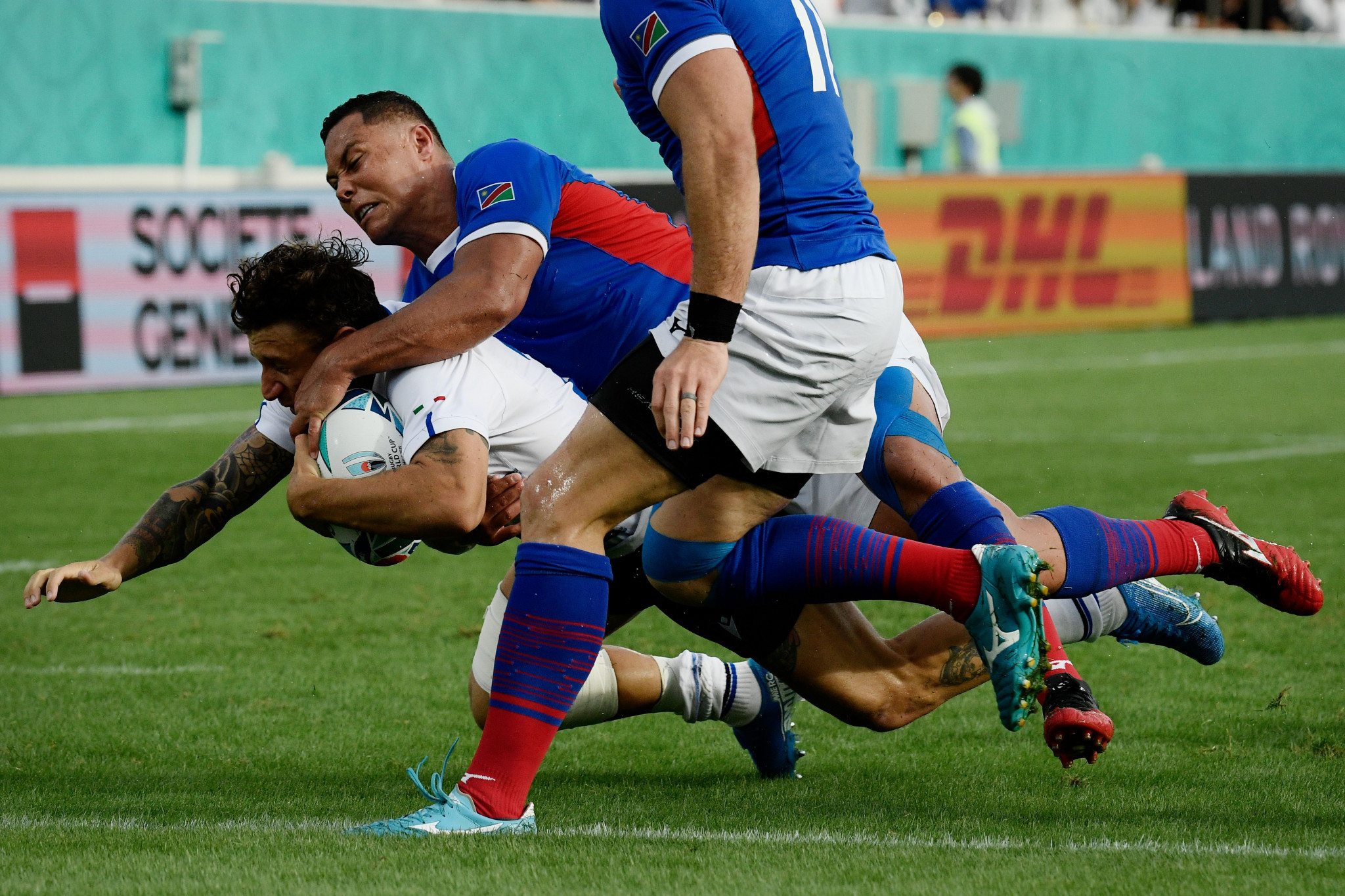 Italy turned things around and scored seven tries in their victory ©Getty Images