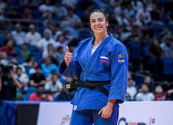 Russia claim two golds to top medals table at IJF Grand Prix