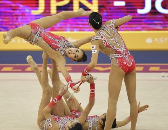 Japan spoil Russian sweep on final day of Rhythmic Gymnastics World Championships