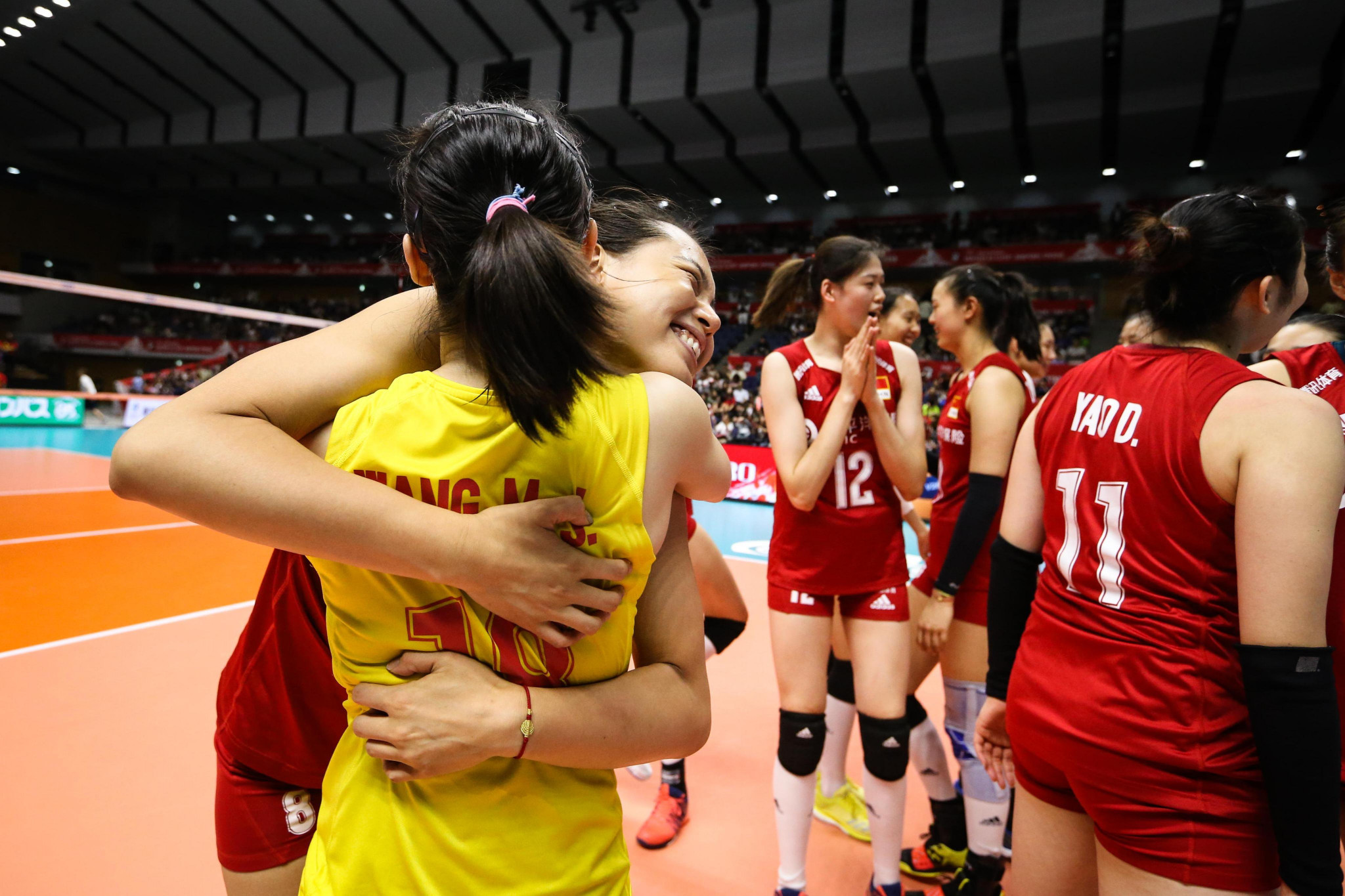 United States and China maintain perfect records at FIVB Women's World Cup