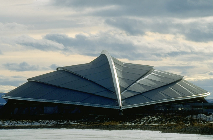 The Hamar Arena in Norway, which hosted the skating at the 1994 Winter Olympics. Hamar. Very cold ©Getty Images