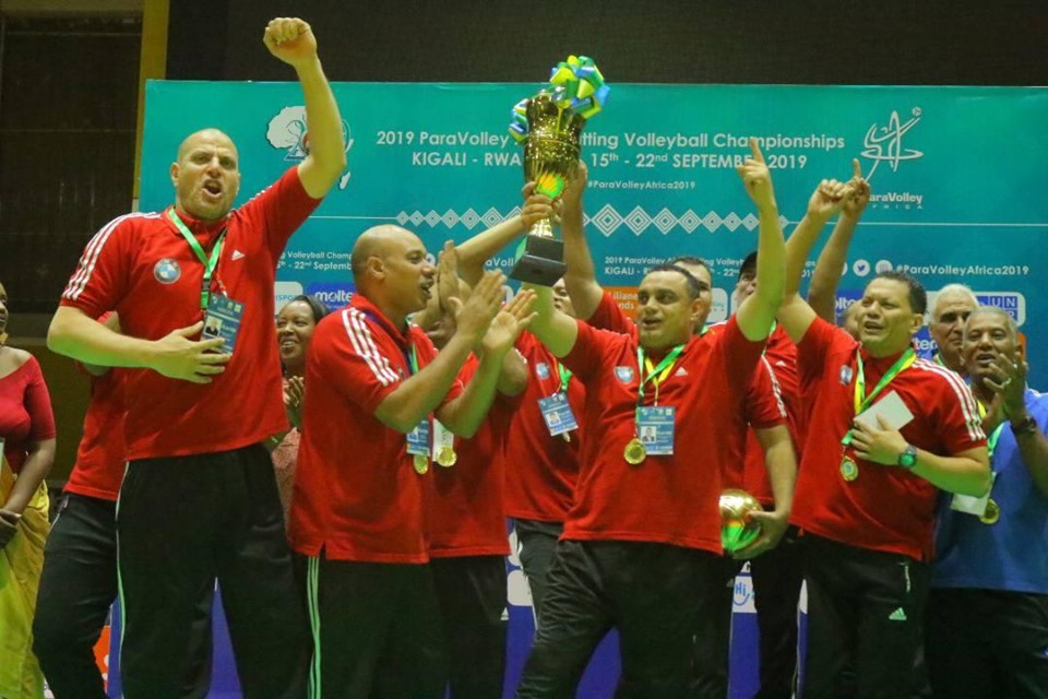 Egypt win Men's ParaVolley Africa Sitting Volleyball Championships and qualify for Tokyo 2020