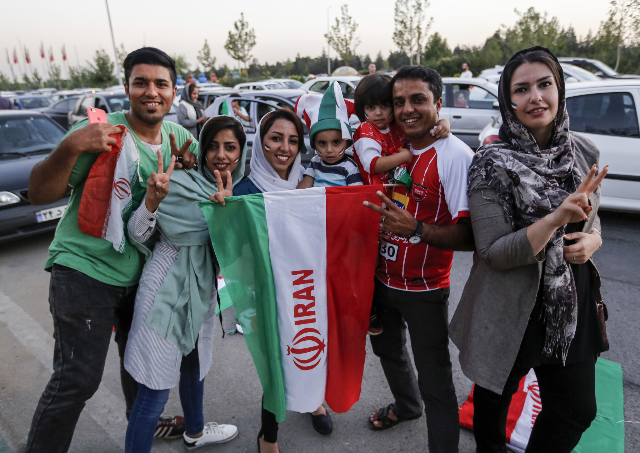 All eyes will be on Iran's clash with Cambodia next month to see if female fans are permitted ©Getty Images