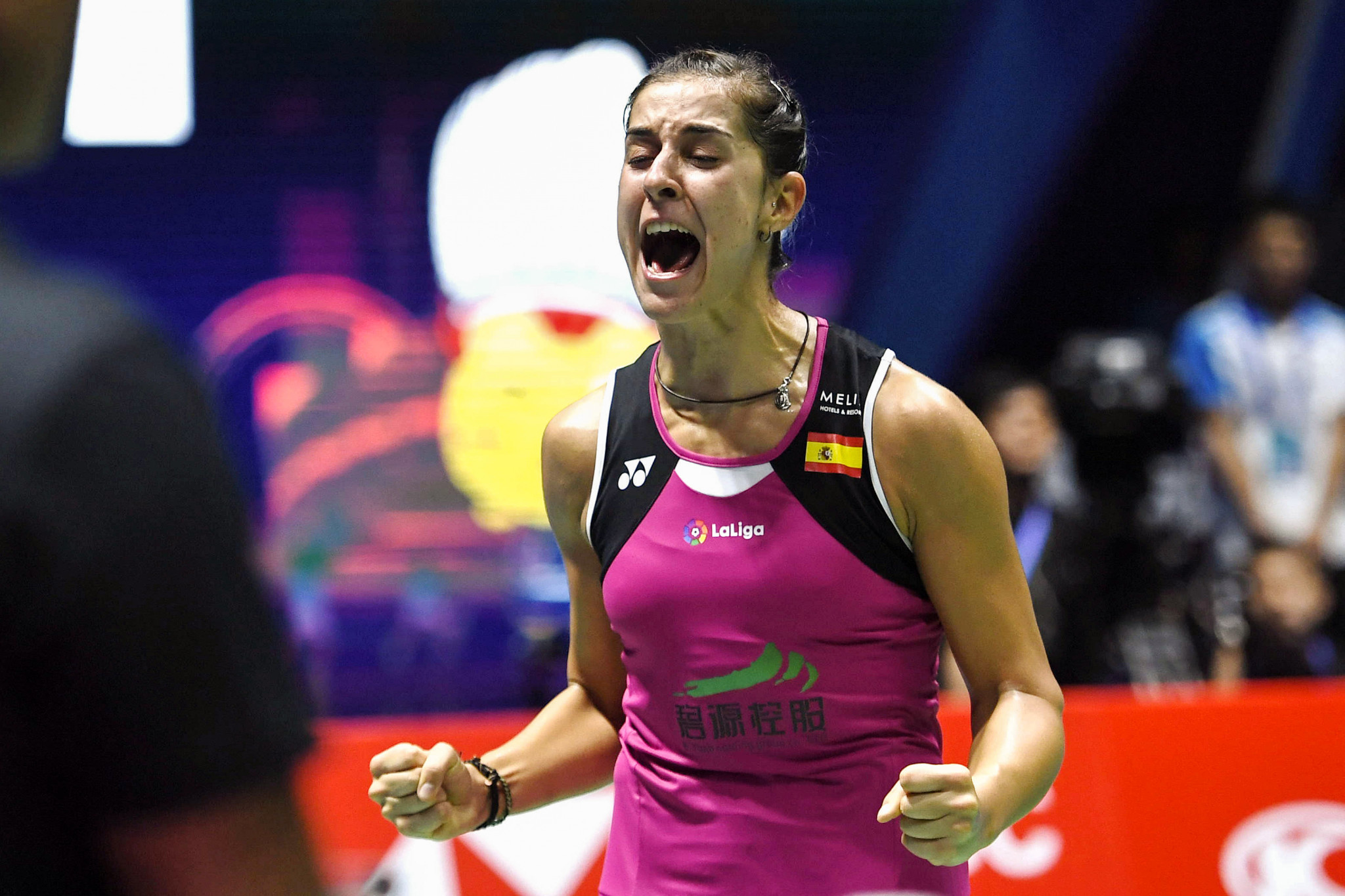 Carolina Marin will look to continue her remarkable injury comeback ©Getty Images