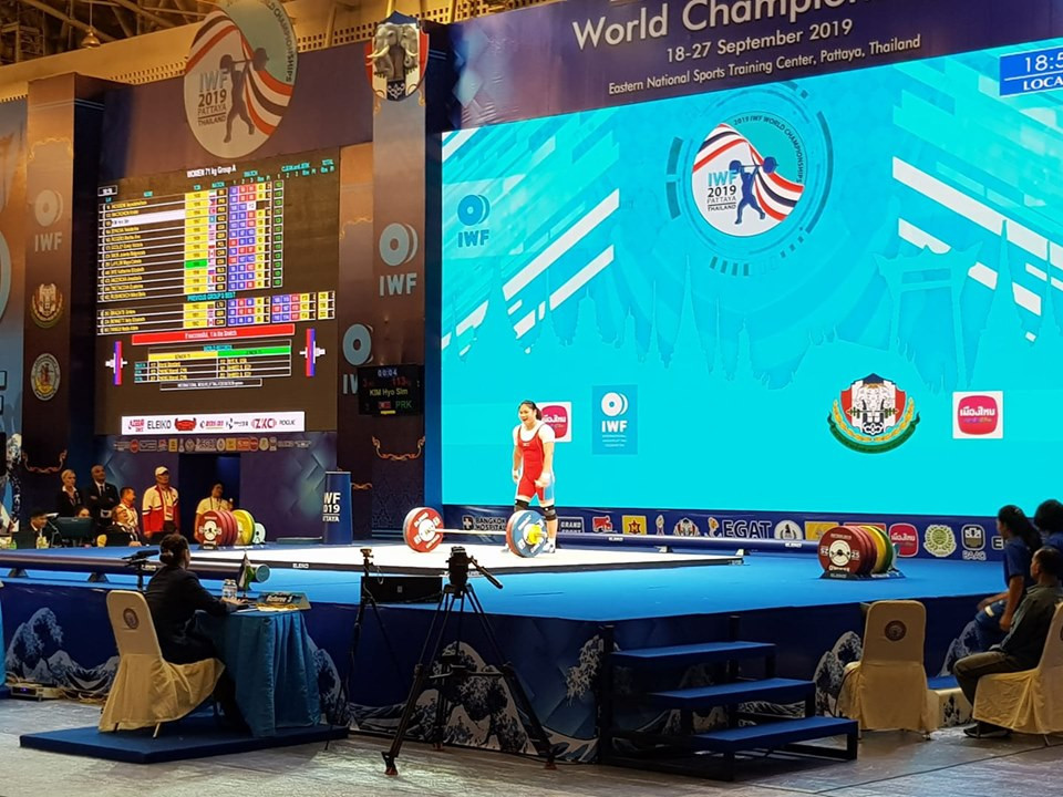 IWF World Championships: Day six of competition