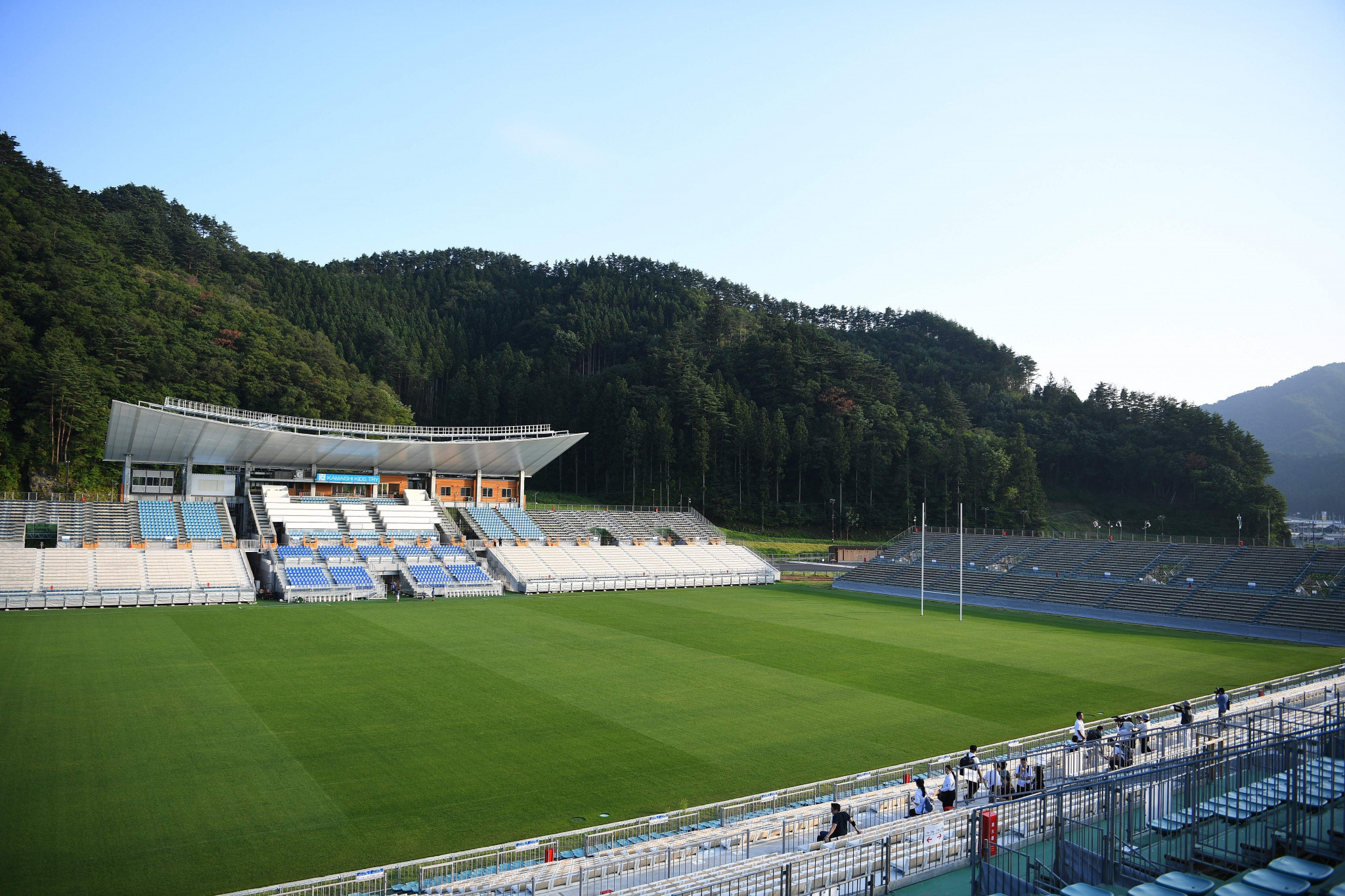 Fiji and Uruguay will play the first match of the 2019 World Cup at the Kamaishi Recovery Memorial Stadium ©Getty Images