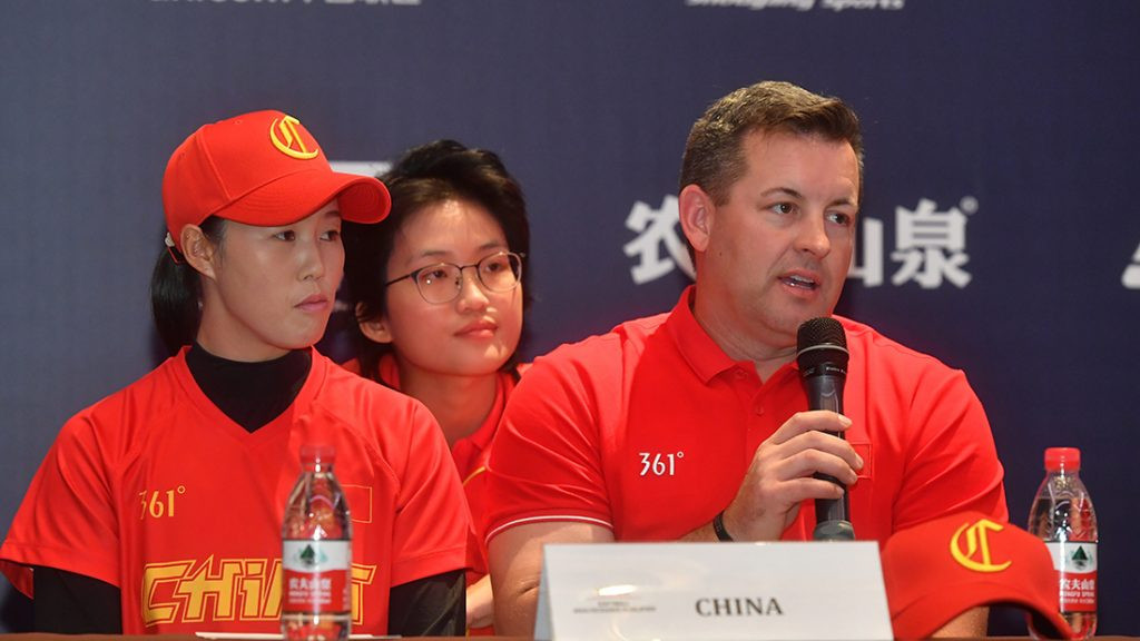 China are confident of securing their Tokyo 2020 berth at the qualifier in Shanghai ©WBSC