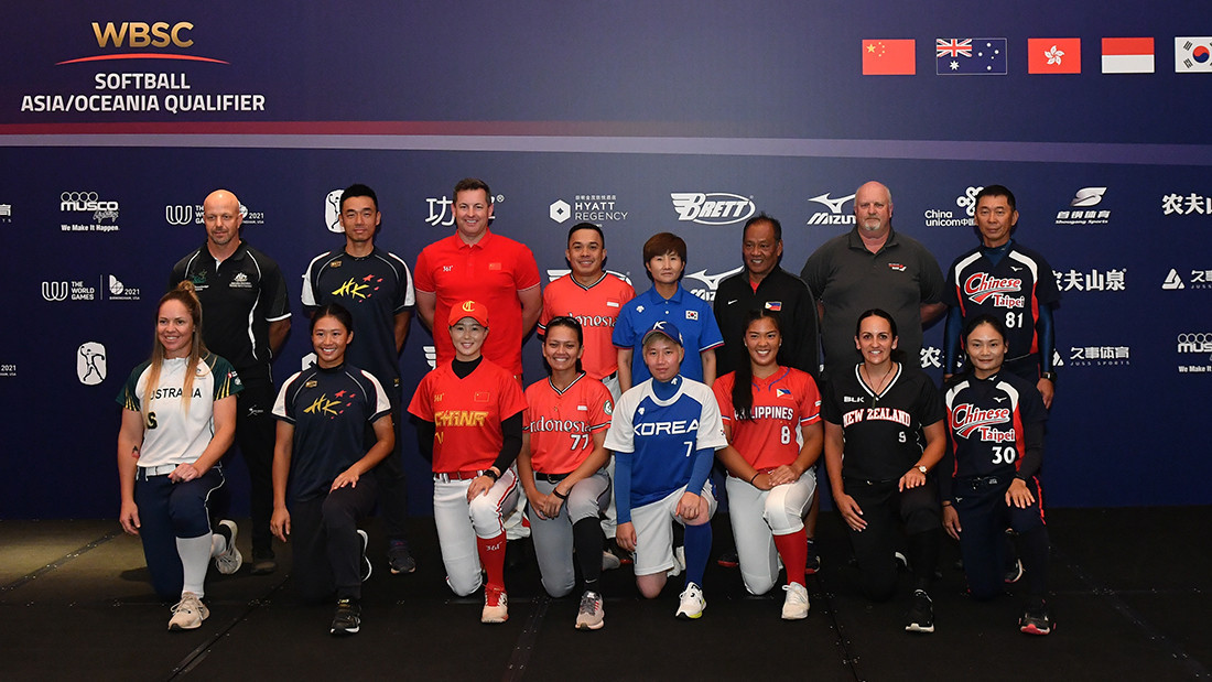 Eight teams vying for last Tokyo 2020 softball place at WBSC Asia/Oceania qualifier