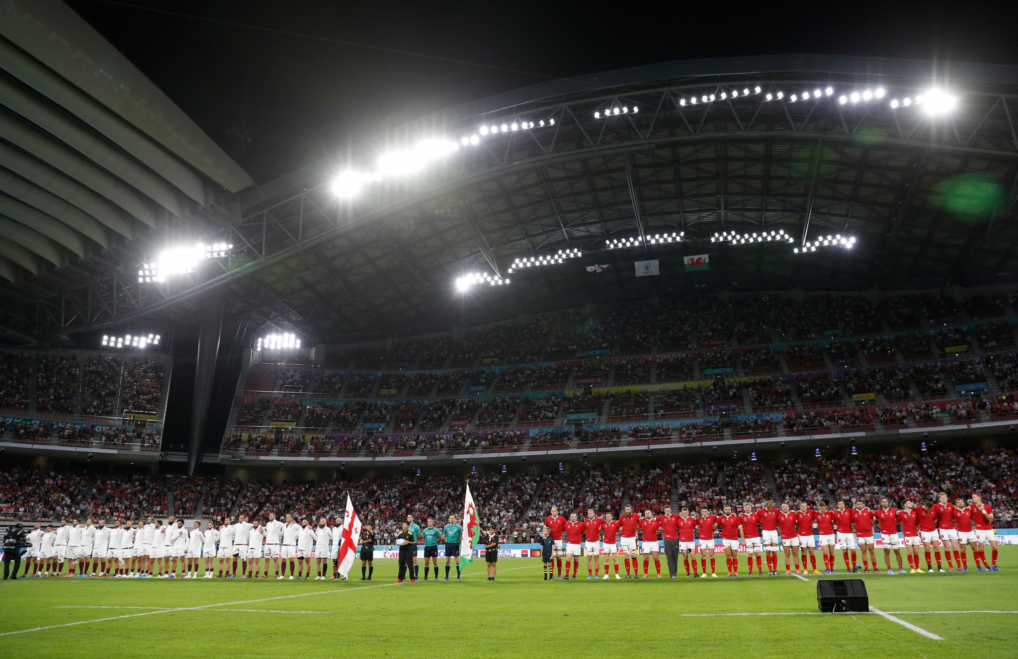 Wales begin Rugby World Cup with Georgia triumph