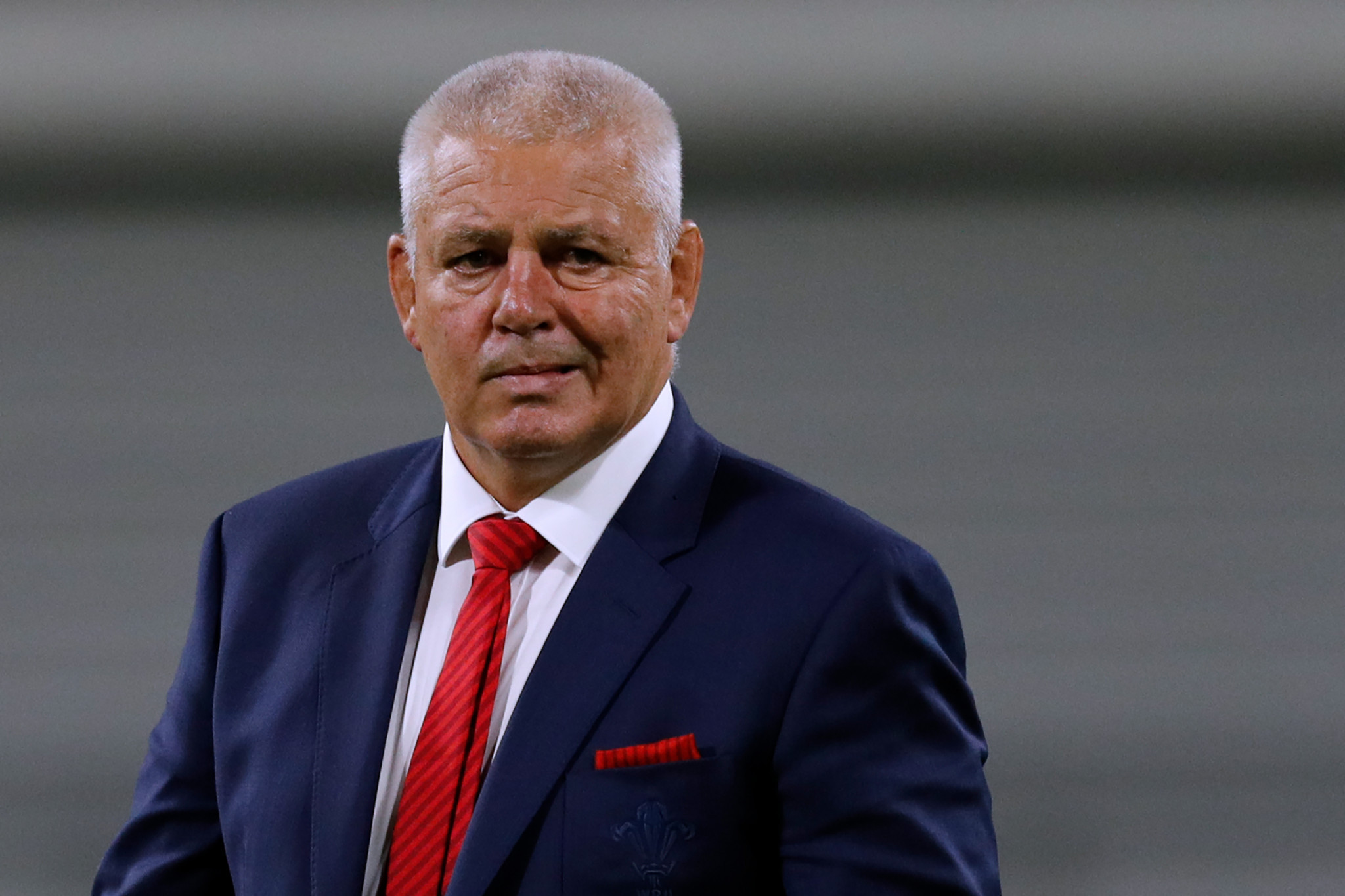 Wales head coach Warren Gatland can now look forward to a crunch clash with Australia ©Getty Images
