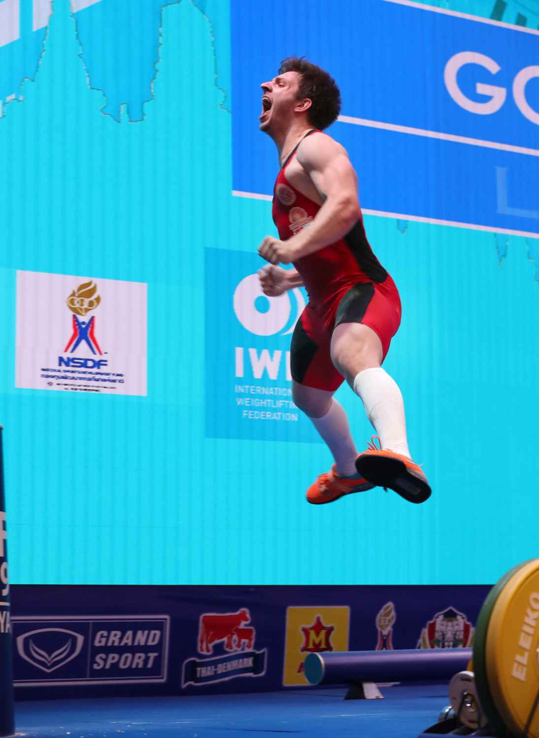 He was jumping for joy at times ©IWF