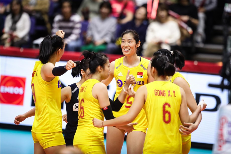 China beat United States to maintain perfect start at FIVB Women's World Cup