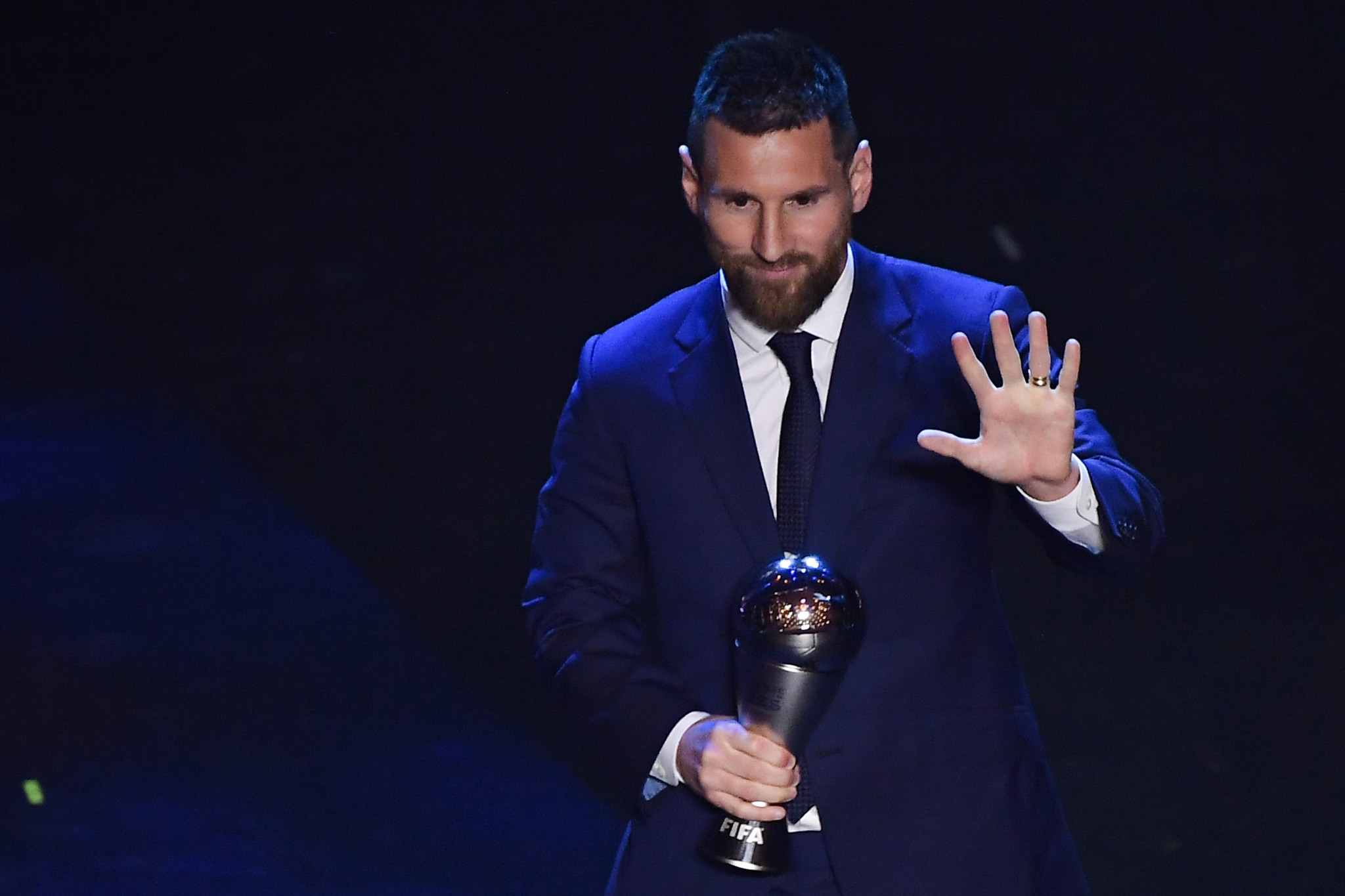 Messi and Rapinoe win at 2019 The Best FIFA Football Awards