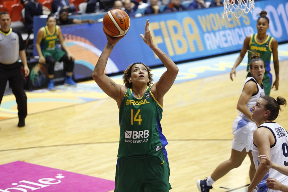 Brazil made it two wins from two as they saw off Argentina ©FIBA