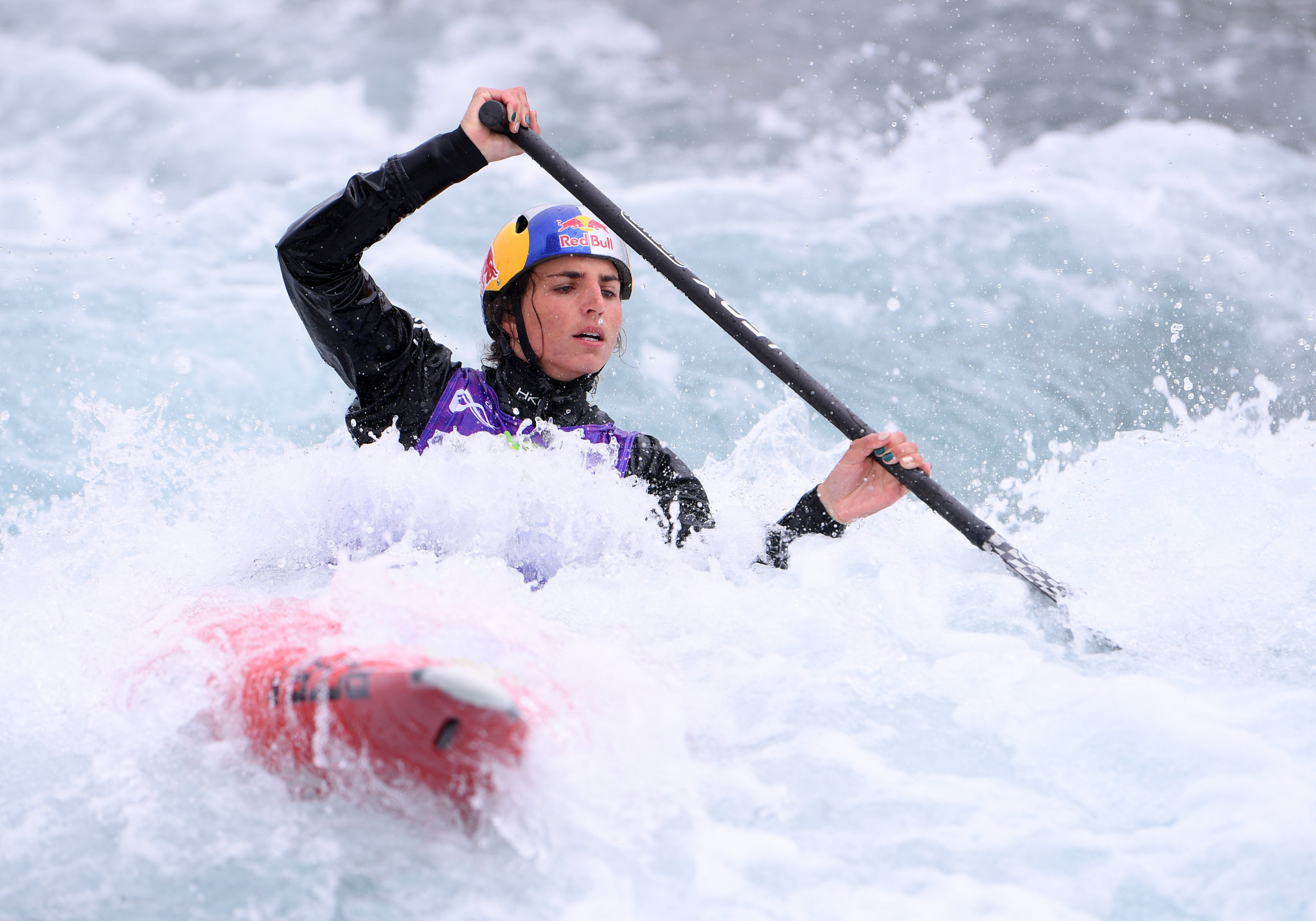 Jessica Fox will hope for a fifth C1 world title ©Getty Images