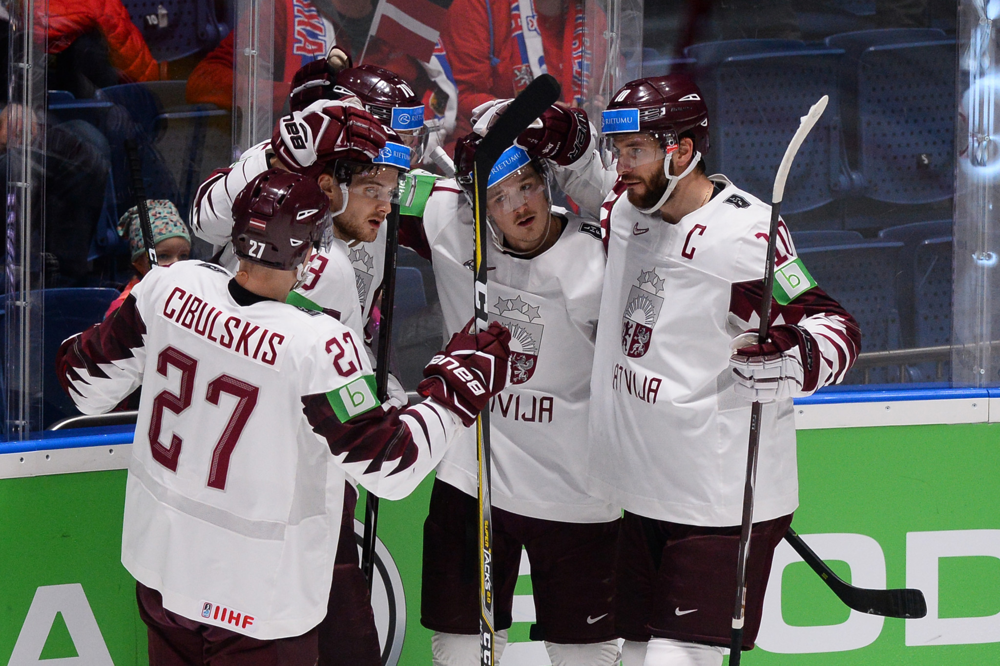 It is hoped the new venue will leave a lasting legacy for Latvian ice hockey ©Getty Images